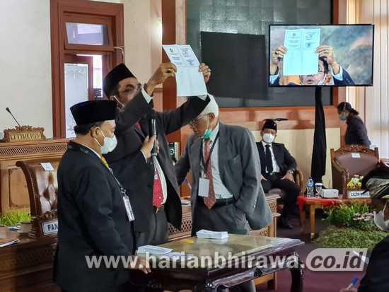 DPRD Tulungagung Gelar Rapat Paripurna Pemungutan Suara Pilwabup