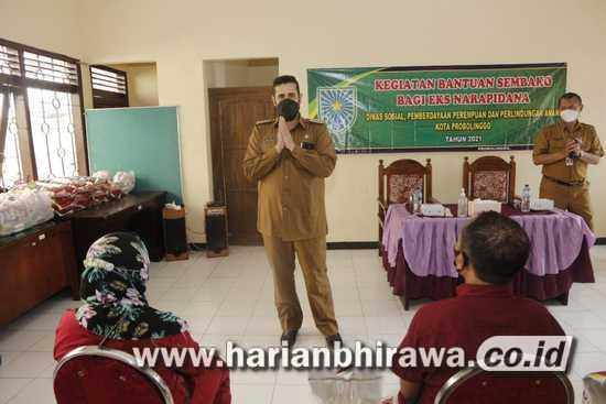 Eks Napi Terima bantuan Wali Kota Probolinggo