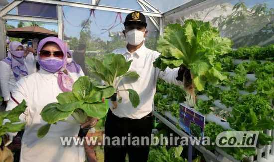 Resmikan RTH Taman Asri, Wali Kota Ingin Semua RTH Jadi Lahan Produktif