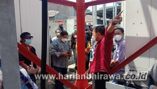 Ditolak Warga, Komisi C DPRD Surabaya Lakukan Sidak Tower Milik PT Protelindo