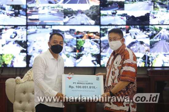 Terima CSR Alat Cetak KTP-el dan KIA, Layanan Adminduk Surabaya Bakal Lebih Cepat