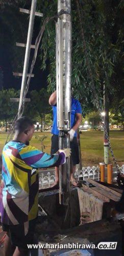 PDAM Tirta Baluran Situbondo Tambah Kapasitas Voltase Dua Titik Sumor Bor