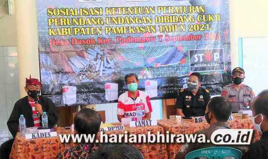 Sosialisasi DBHCHT, APD dan Masyarakat Diminta Cegah Rokok Ilegal