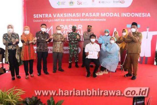 Bersama Pasar Modal Indonesia, Pemkab Gresik Siapkan 51 Ribu Dosis Vaksin