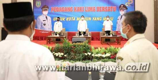 Infrastruktur Dibenahi, Pemkot Madiun Bina PKL agar SDM Makin Meningkat