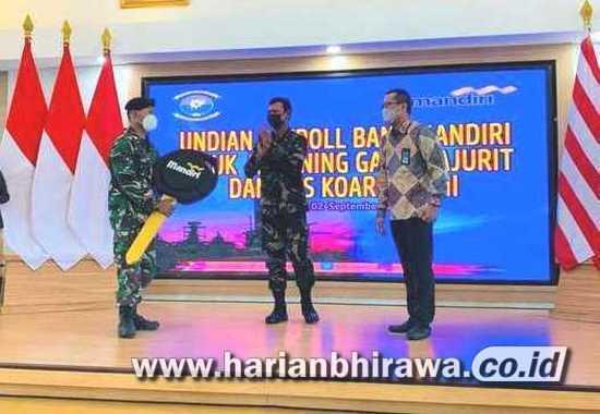 Bank Mandiri Dorong Prajurit dan PNS Koarmada II Kelola Keuangan