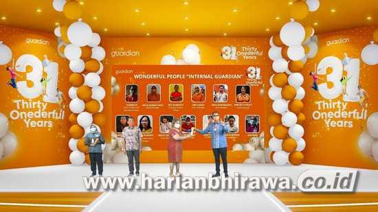 Guardian Indonesia Berikan Penghargaan pada 31 Orang Tokoh Inspirasional