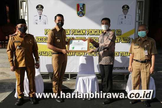 36 Perusahaan di Tuban dapat Penghargaan dari Pemprov Jatim