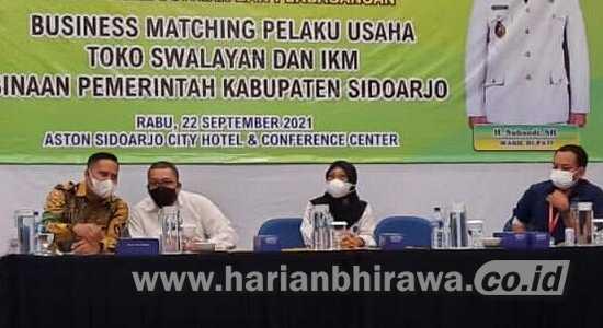 Produk UKM Kabupaten Sidoarjo Bakal Dipajang di Rak Khusus Indomart