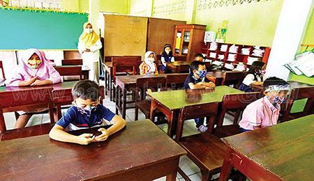 Sejumlah Sekolah di Kota Probolinggo Uji Coba PTM