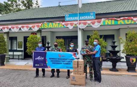 Aice Gandeng Ratusan Distributor Salurkan Jutaan Es Krim dan Masker untuk Masyarakat