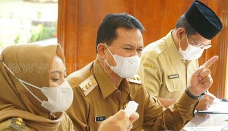 Gelar Rapat Dinas Virtual, Wali Kota Persiapkan PTM SMP