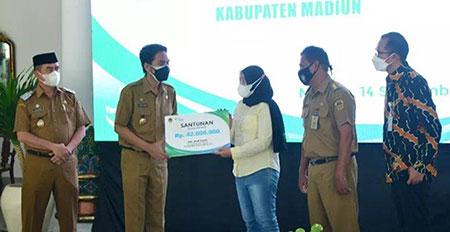 PTT/GTT dan PKWT Pemkab Madiun Peroleh Jaminan Keselamatan Bekerja