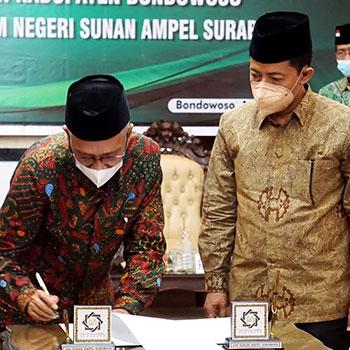 Pemkab Bondowoso dan UIN Sunan Ampel Surabaya Teken MoU