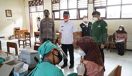 Sebanyak 19 Ribu Siswa SMA/SMK di Blitar Telah Vaksinasi
