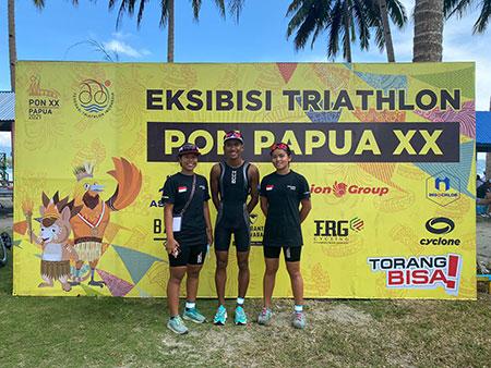 Usai Raih Emas Triathlon, Langsung Berlatih untuk Seleknas
