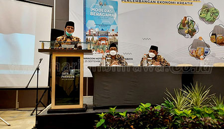 Sosialisasi Buku Moderasi Beragama di Jawa Timur