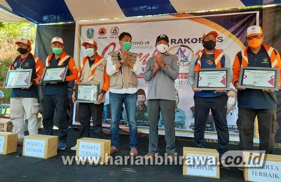 FPRB Pamekasan Tim Terbaik se-Jatim, Jambore Relawan 2021 di Trawas