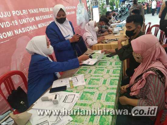 Target PPKM Level 1, Genjot  Vaksinasi Covid-19 di Sampang