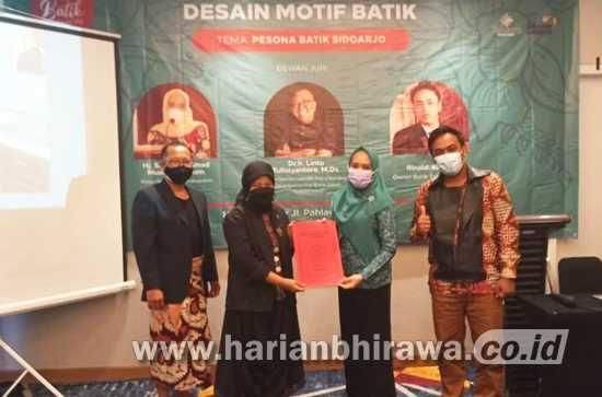 Lomba Desain Batik Sidoarjo Dimenangkan Warga Yogyakarta