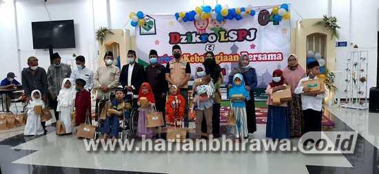 Yayasan Panggilan Jiwa Santuni Ratusan Anak Yatim di Gresik Utara