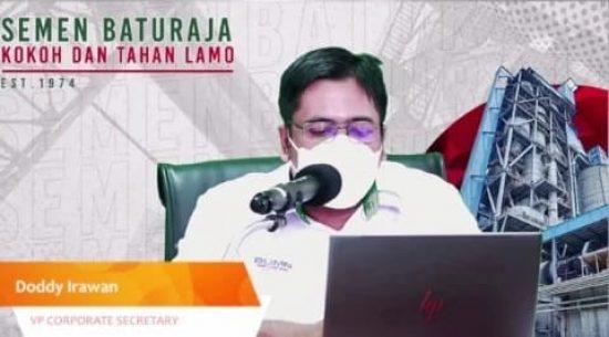 Public Expose Live 2021, Penjualan Semen Baturaja Naik 14 Persen