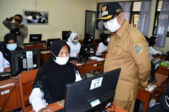 Enam Peserta Gagal Ikuti Ujian PPPK Akibat Reaktif Antigen di Tulungagung