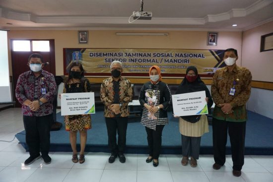 Kadisnakertrans Jatim Nyatakan Jaminan Sosial Penting bagi Pekerja Informal