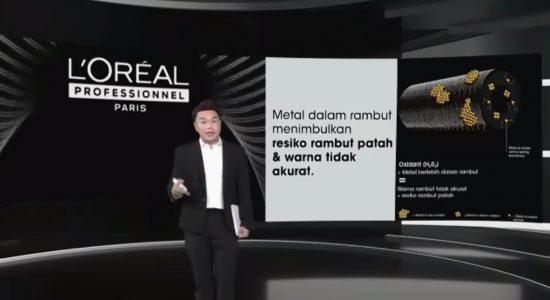 L'oréal Professionnel Luncurkan Metal DX untuk Netralkan Metal dalam Rambut