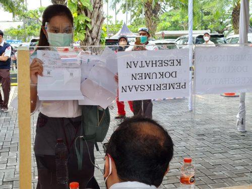 Bupati Maryoto Apresiasi Penerapan Prokes Ujian CPNS di Tulungagung