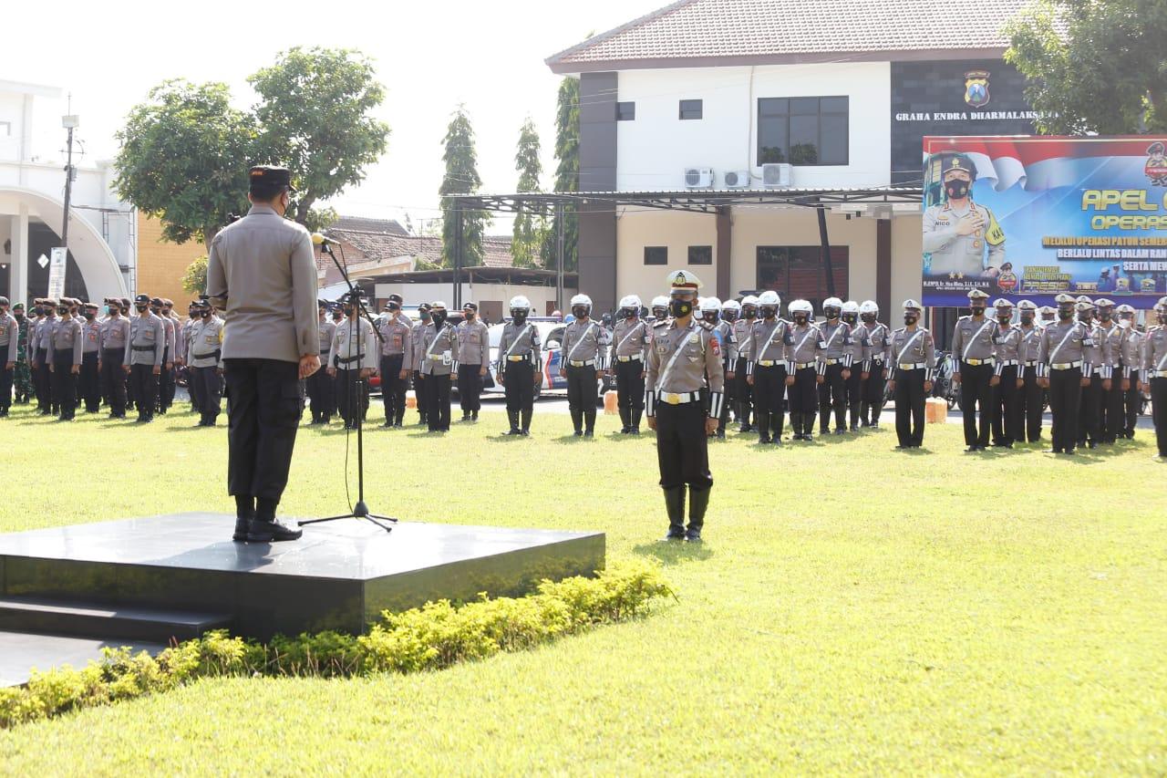 81 Personel Dilibatkan pada Operasi Patuh Semeru 2021 di Jombang