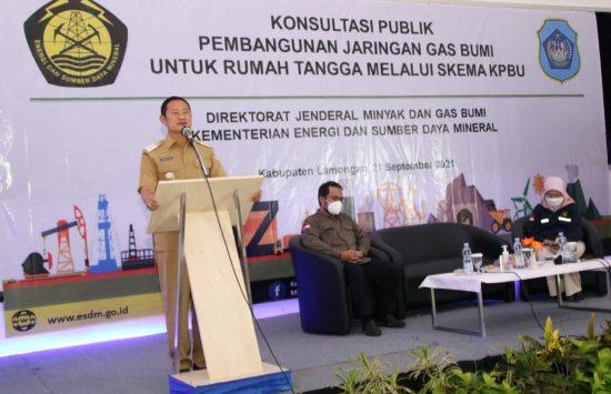Bupati Yuhronur Ajak Masyarakat Support Jargas di Lamongan