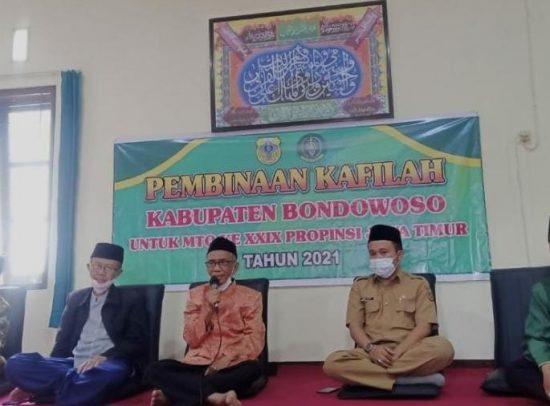LPTQ Bondowoso Gandeng Provinsi Jatim Bina Calon Peserta MTQ