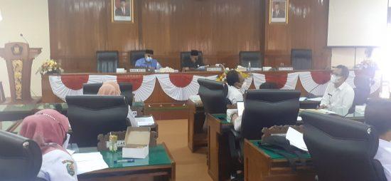 Anggaran Dinas Pendidikan Pemuda dan Olah Raga Diklarifikasi Komisi IV DPRD Trenggalek
