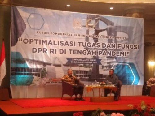 Tugas DPR-RI Tak Sebatas Legislasi, Indra Iskandar: Juga Melaksanakan Politik Diplomasi LN