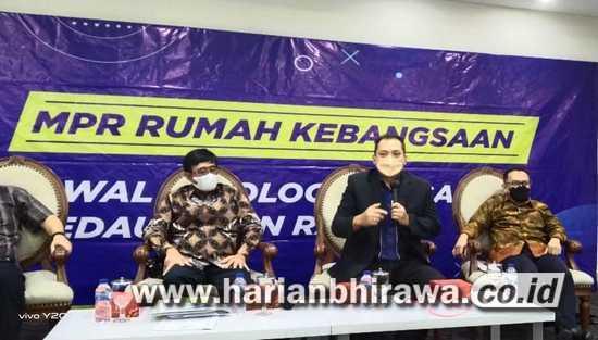 Ketua Badan Pengkajian MPR RI Amandemen Ke 5 UUD 45 Bakal Dilakukan