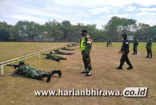 Pelihara Kemampuan Dasar Prajurit, Kodim 0815 Gelar Latihan Menembak