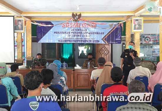 Diskominfo Jombang-Kantor Bea Cukai Kediri Laksanakan Sosialisasi Ketentuan Cukai di Desa Kebon Agung Ploso