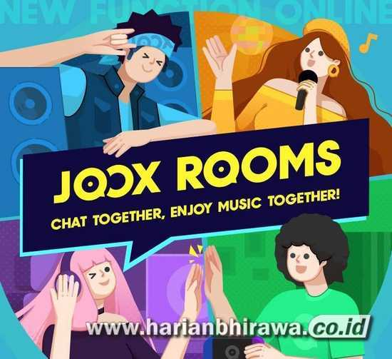 JOOX ROOMS, Ngobrol, Bermain Game dan Berbagi Musik Jadi lebih Seru