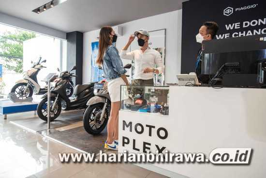 PT Piaggio Indonesia Perluas Diler Premium Motoplex 4 Brand di Jawa Timur