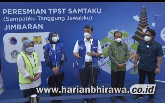 Danone-AQUA Perkuat Komitmen Ekonomi Sirkular dengan Resmikan TPST di Bali