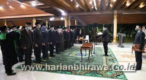 51 Orang Pejabat Struktural Sidoarjo Dilantik di Pendopo
