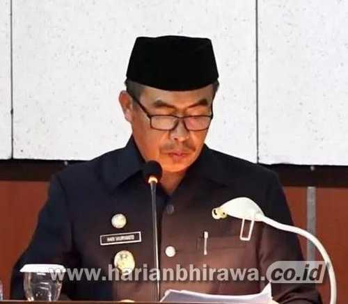 Nota Keuangan Bupati Madiun Tentang RAPBD TA 2022 Difisit Anggaran Rp2,2 Miliar