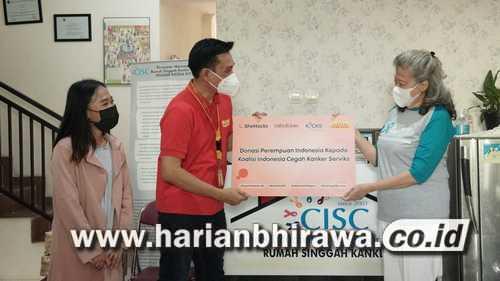 Steve Saerang: SheHacks Salurkan Donasi Program Kolaborasi 'Shop-for-a-Cause'
