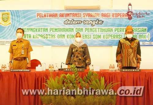 196 Awak Koperasi di Wilayah Kota Mojokerto Dilatih Akuntansi Syariah