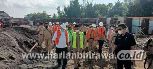 Pembangunan Pasar Induk Bondowoso Telan Rp 3 M Ditargetkan Desember Rampung