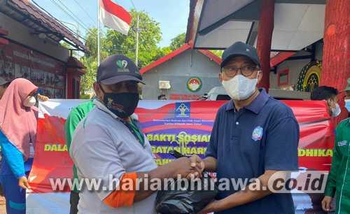 Asosiasi Kontraktor Nasional Situbondo Bersama PASTI Kompak Sukseskan Bansos