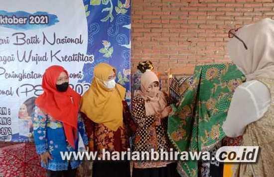 Kecamatan Karangploso Jadi Sentra Batik Tulis di Kabupaten Malang
