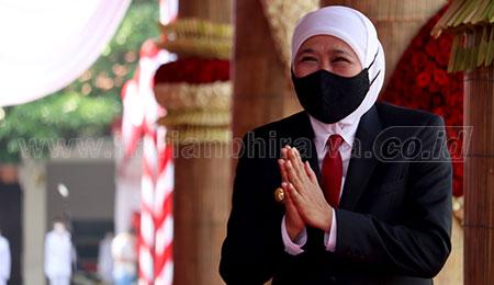 Masyarakat Puas Kinerja Gubernur Jawa Timur