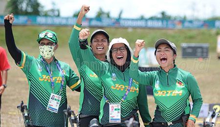 Tujuh Cabor Juara Umum, Jatim Masih Berpeluang Jawara PON